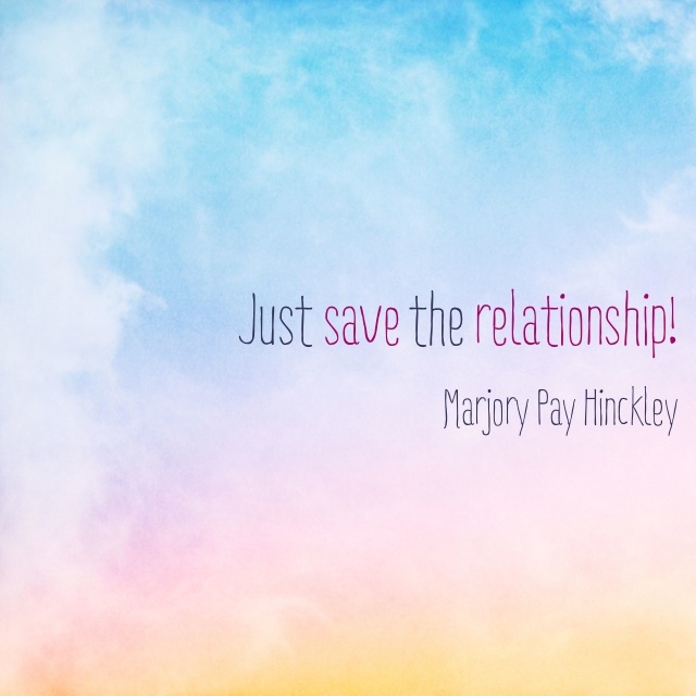 Just save the relationship