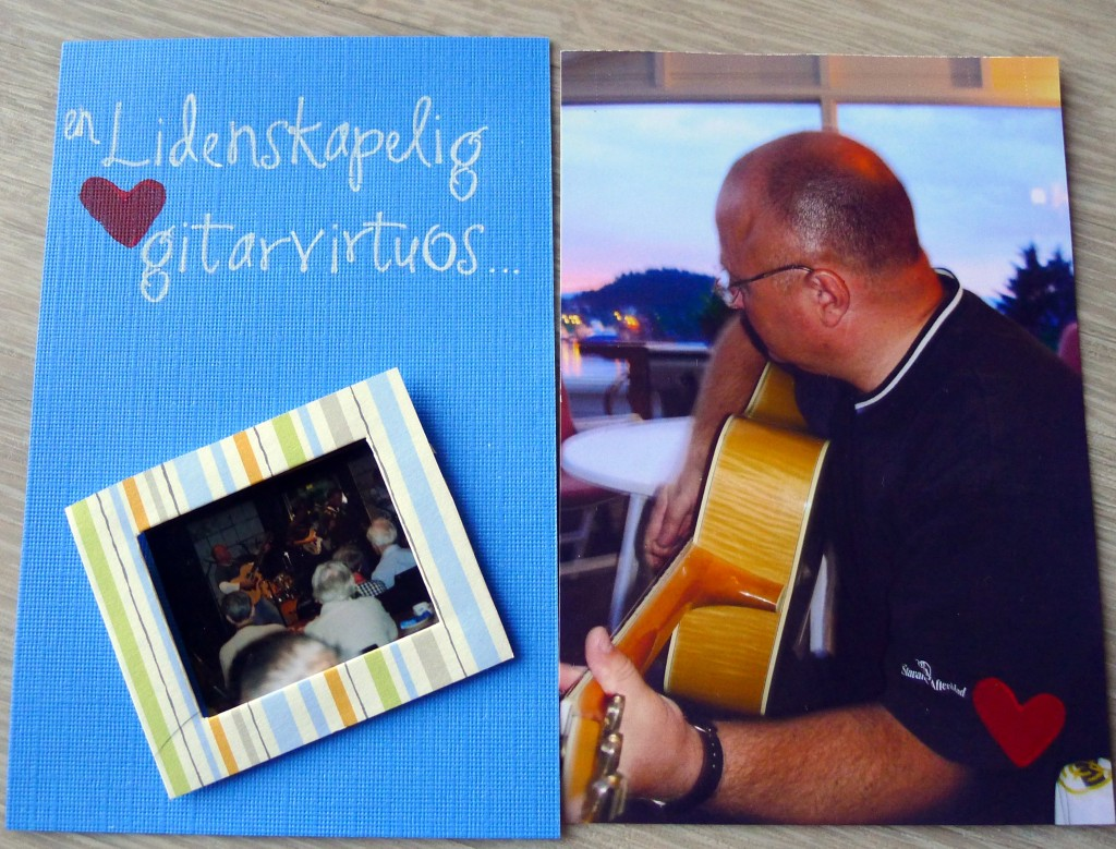 You ar a passionate guitar virtuoso