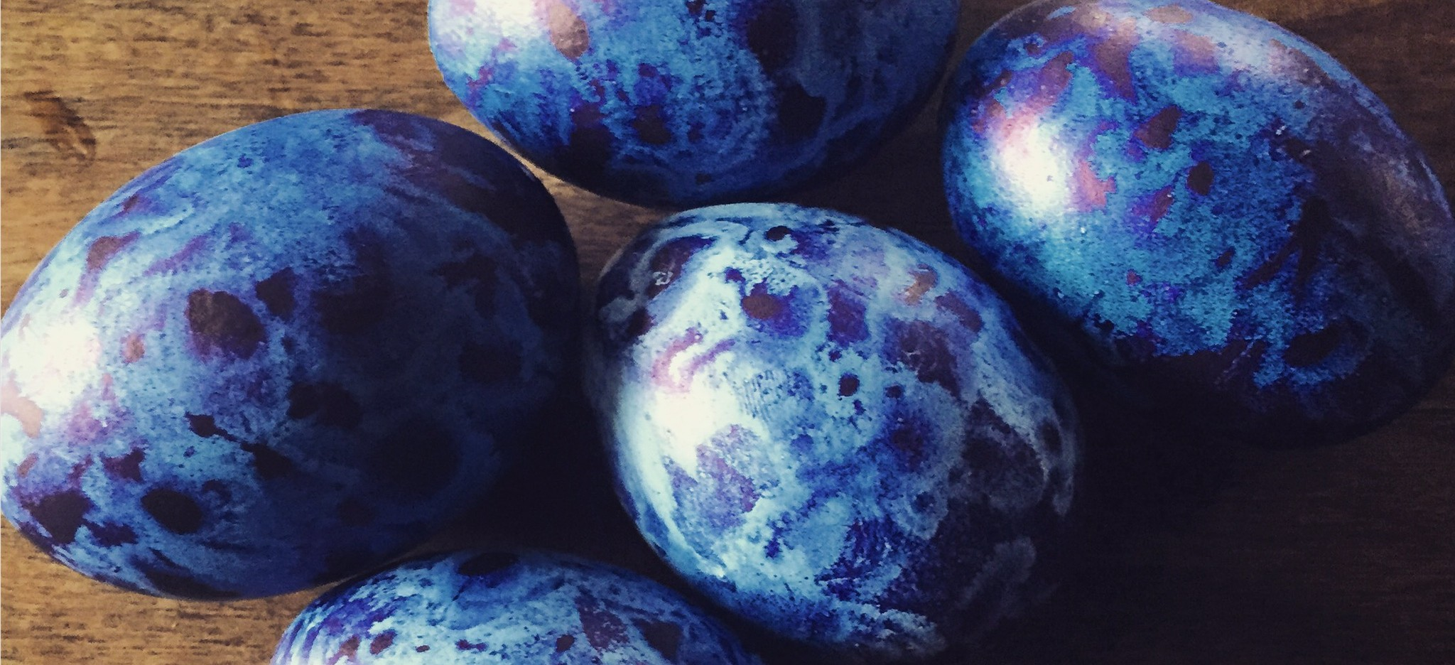 Inked Easter Eggs
