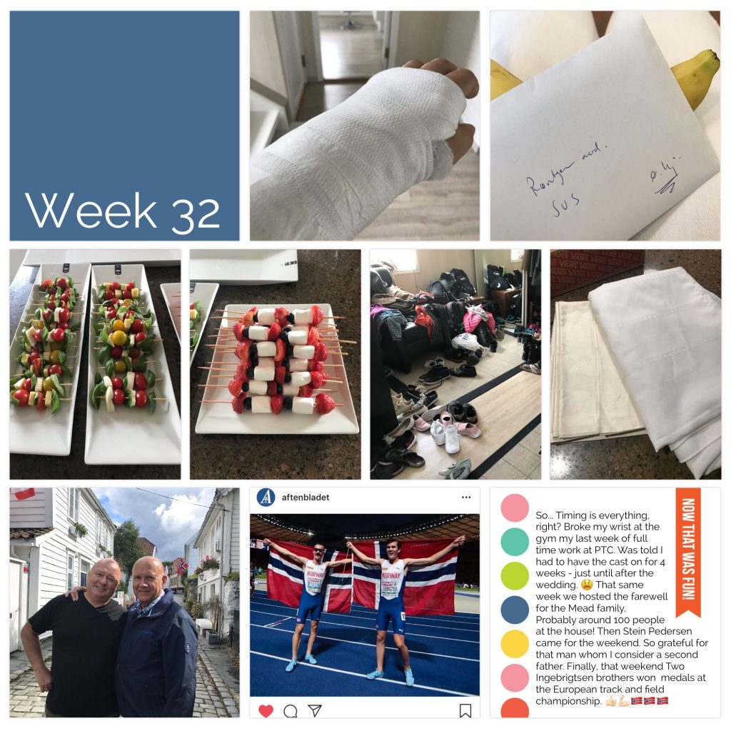 Weekly picture collage week 32