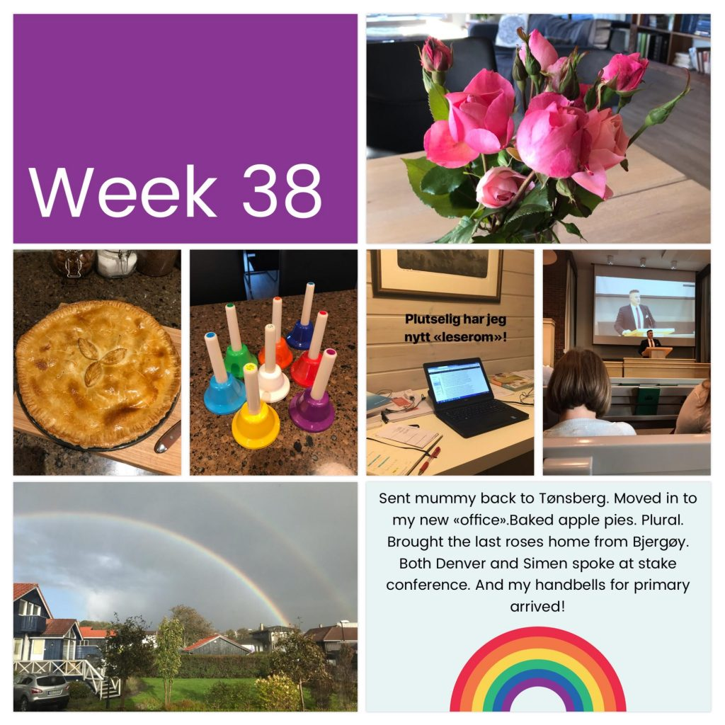 Weekly photo collage week 38